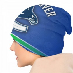 Novel trends NHL Vancouver Canucks Adult Men's Knit Hat #191095 durable and Best Cheap
