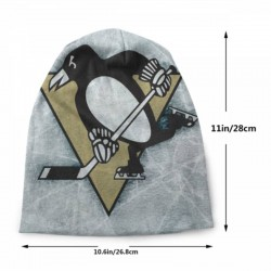 Dainty and perfect NHL Pittsburgh Penguins Adult Men's Knit Hat #202233 suitable for all seasons