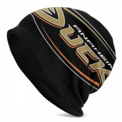 Fashion Funny Anaheim Ducks Adult Men's Knit Hat #196360 wrinkle resistant and Soft Knit Hat