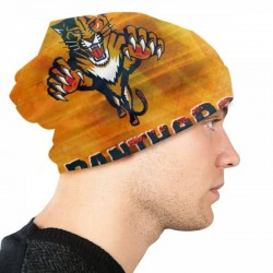 Excellent quality NHL Florida Panthers Adult Men's Knit Hat #208045 soft, durable, warm and lightweight