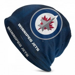 High quality NHL Winnipeg Jets Adult Men's Knit Hat #196638 wrinkle and fade resistant, doesn't shed